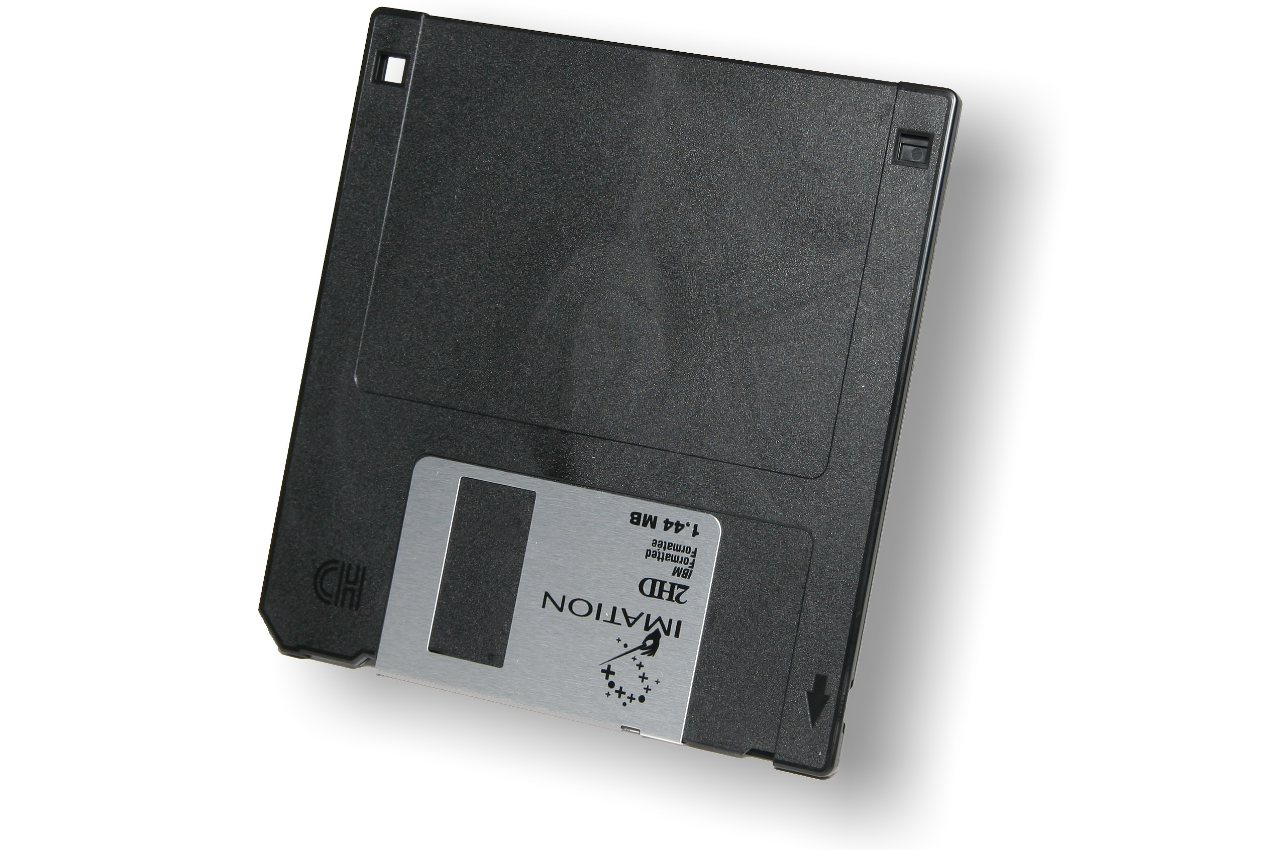"""3,5""-Diskette"" by Afrank99 - Own work. Licensed under Creative Commons Attribution-Share Alike 2.0 via Wikimedia Commons - http://commons.wikimedia.org/wiki/File:3,5%22-Diskette.jpg#mediaviewer/File:3,5%22-Diskette.jpg"