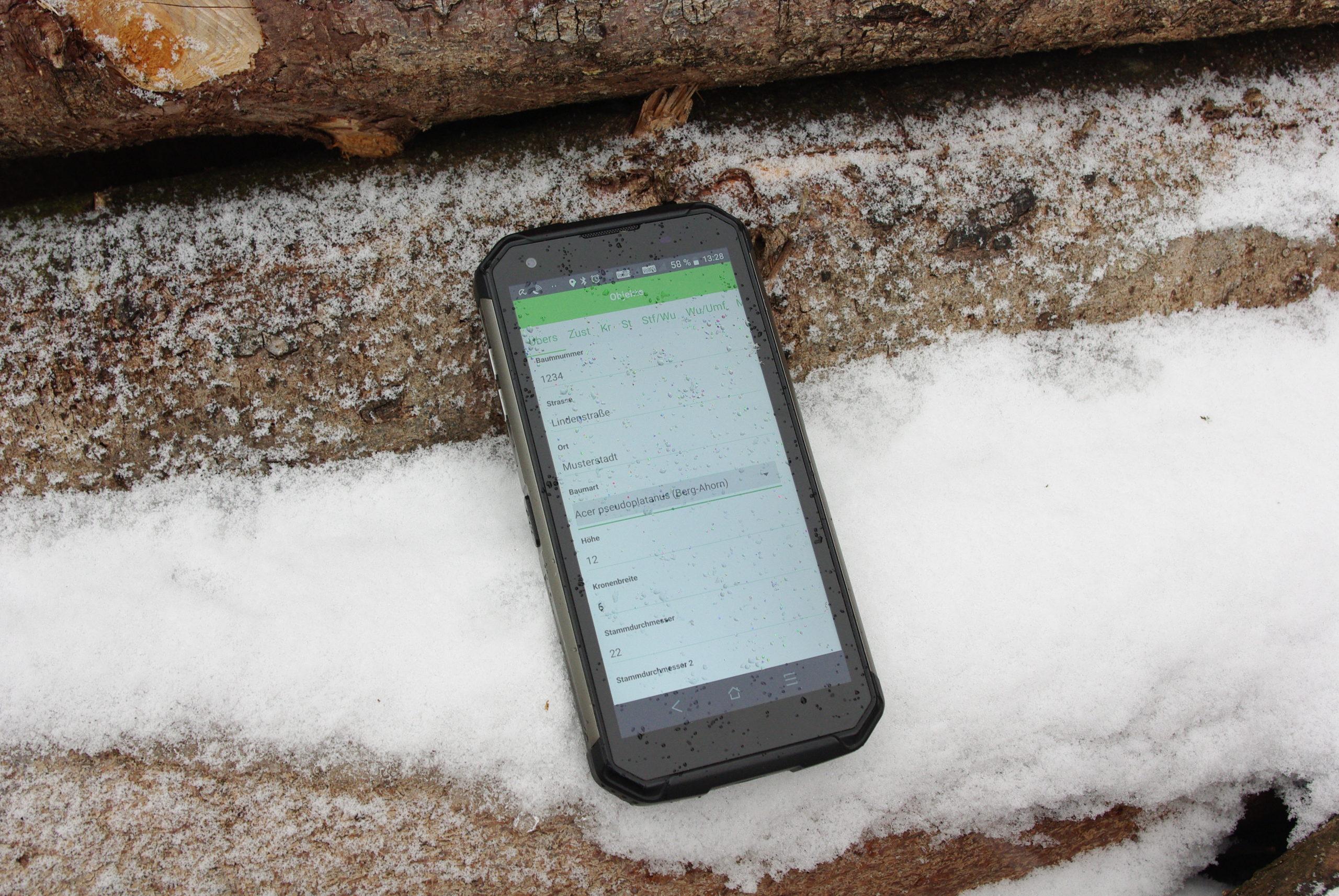 Baumkataster 4 – Baumkontrolle mit App